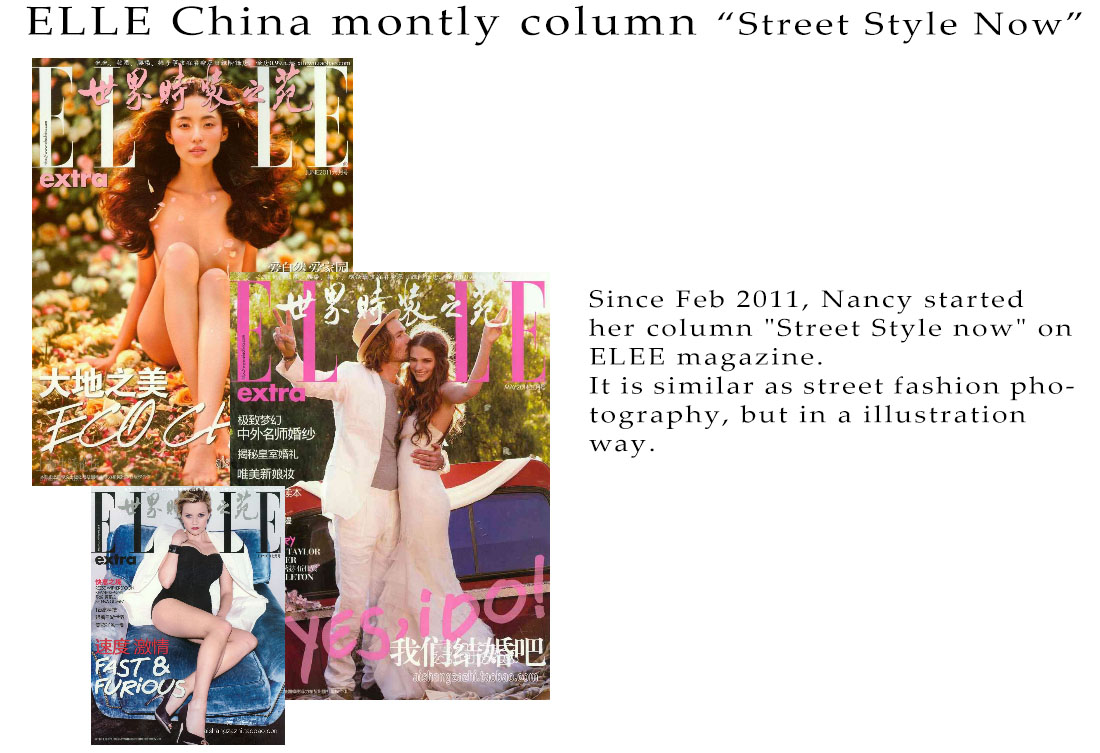ELLE China Montly column_Street style now_001