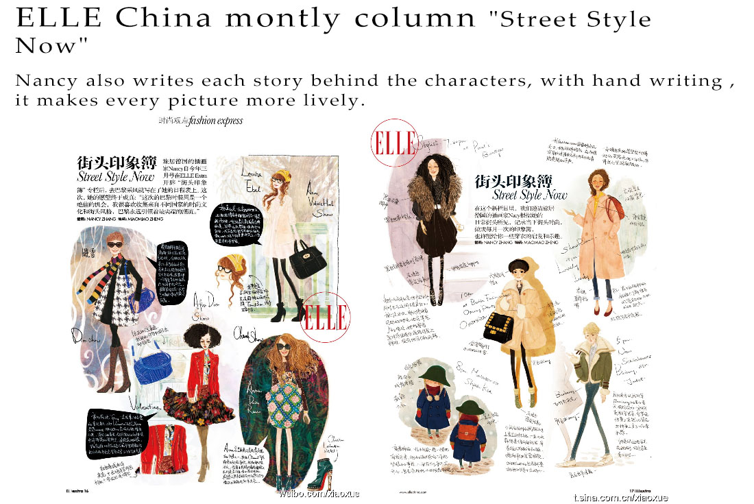 ELLE China Montly column_Street style now_002